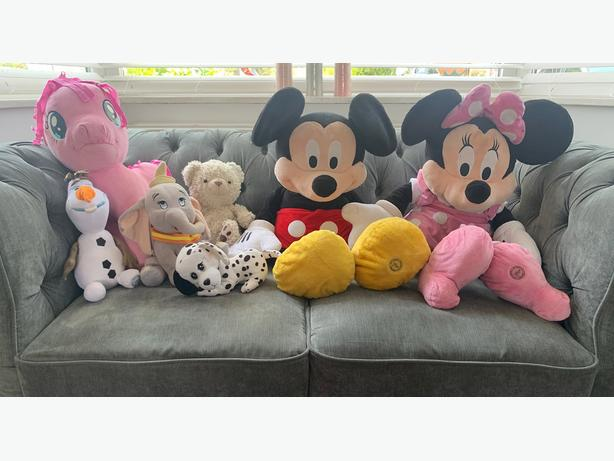 Branded Cuddly Teddies/soft toys (Great Condition) Only £15 for all