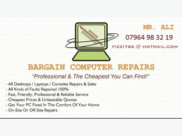 BARGAIN COMPUTER REPAIRS