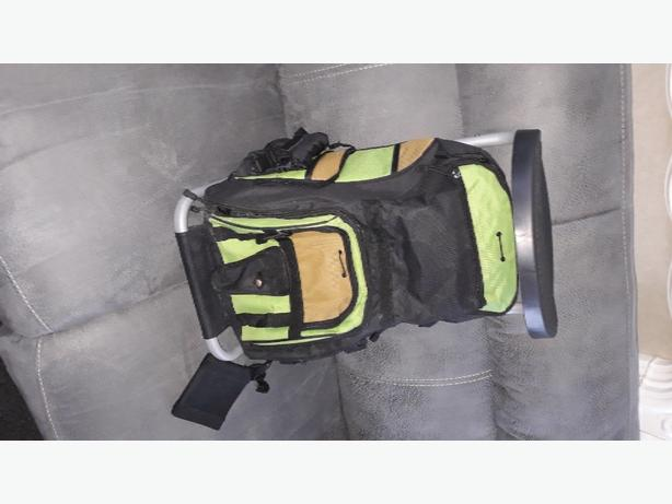 backpack with seat