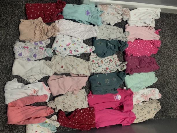 baby clothes bundle newborn 0-3 3-6