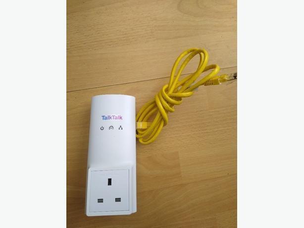 talktalk d-link dhp-300av Powerline Adapter New