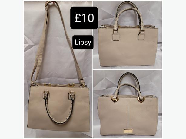 Lipsy Structured Handbag With Shoulder Strap