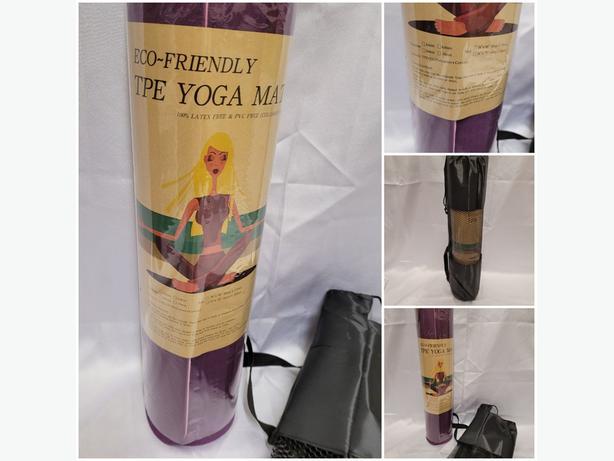 TPR Yoga Mat & Carry Bag