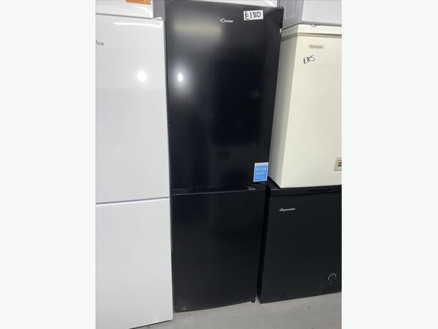 PLANET APPLIANCE - CANDY BLACK  FRIDGE FREEZER CLEAN AND TIDY