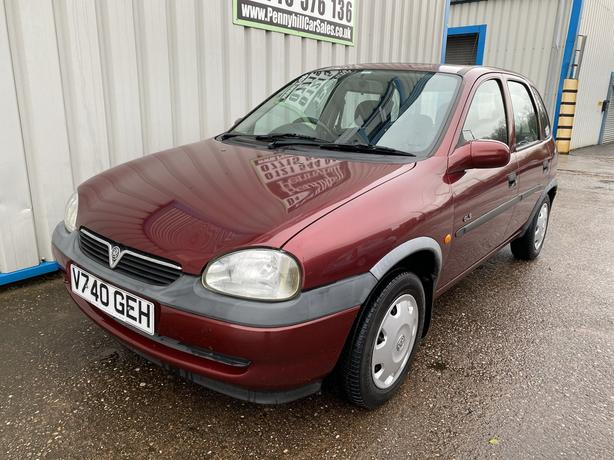 2000 Vauxhall Corsa 1.2 GLS *ONLY 42,000 MILES & 1 FORMER KEEPER*