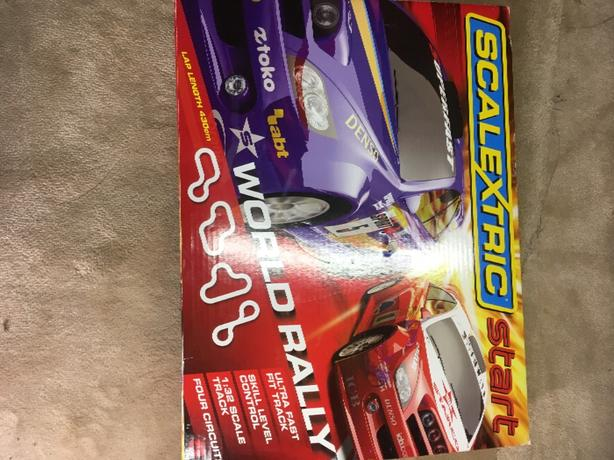 scalextric world rally