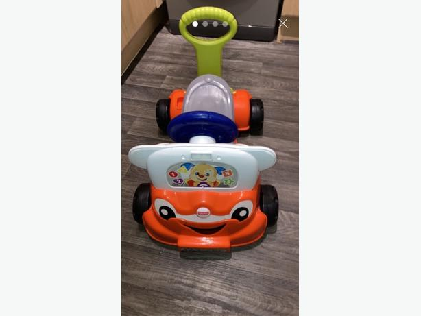 fisher price ride on 3 in 1