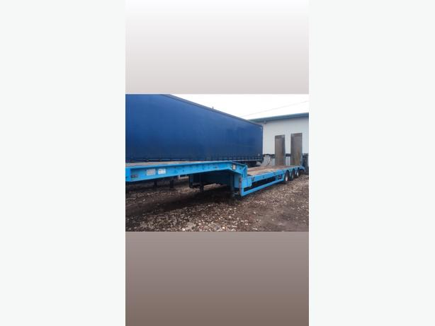faymonville 40 tonne tri axle low loader