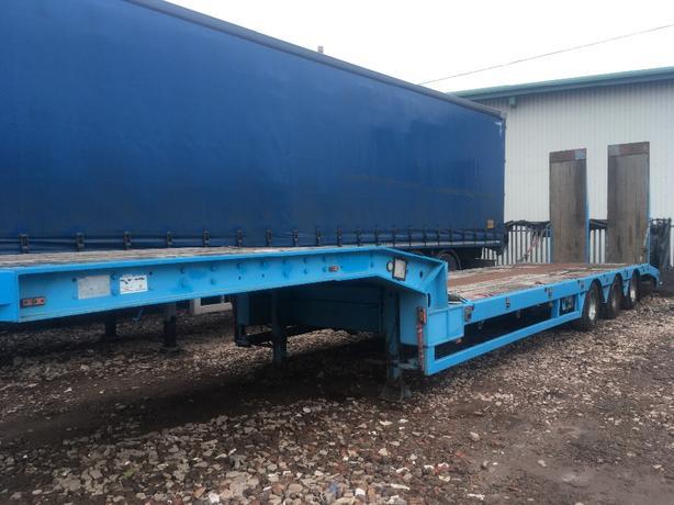 transportation low loader trailer