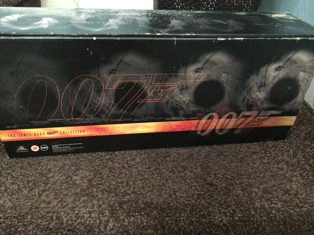 Boxed set of James Bond 007 collection.