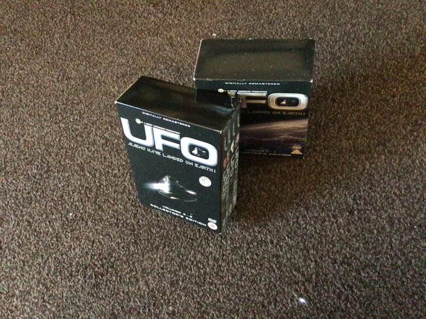 UFO boxed sets series 1-4 and 5-8