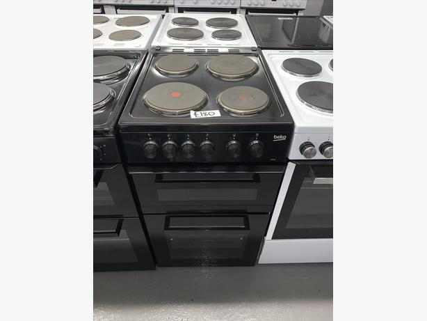 PLANET APPLIANCE - 50CM ELECTRIC COOKER IN BLACK