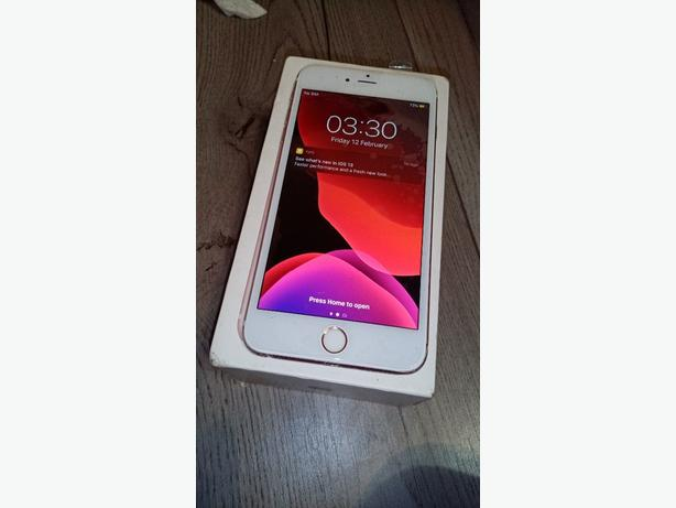 IPHONE 6S Plus Rose, Good with box!!