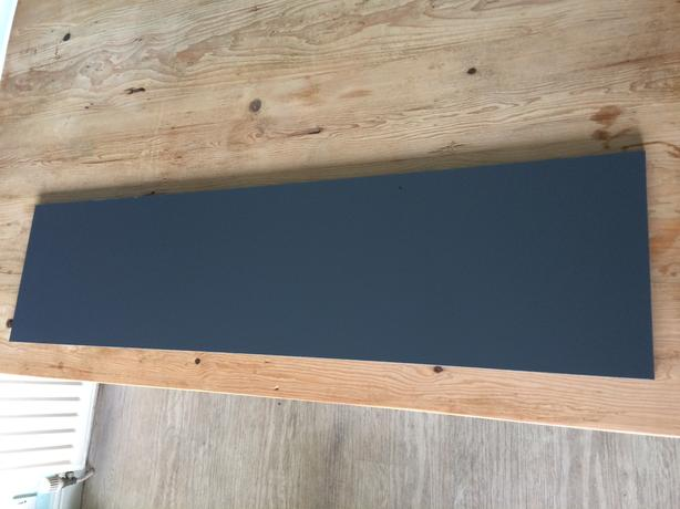 dark grey panel ideal for table bench top shelf plank