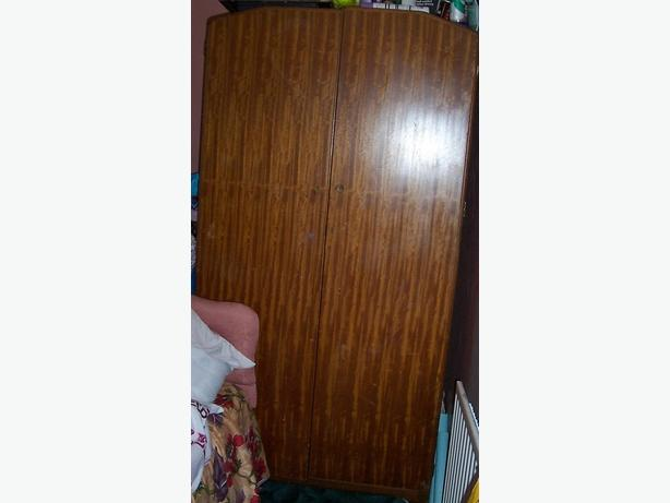 Wardrobe. Has one handle missing. Free to collect from DY2