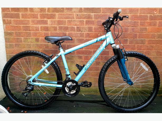 """Apollo xc26 bike,18 speed, front suspension, 26""""wheels"""