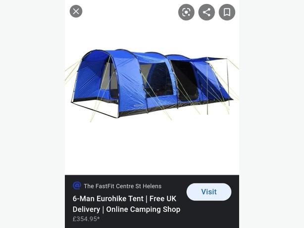 camping equptment