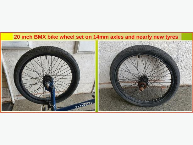 20 inch BMX Bike Wheels Set