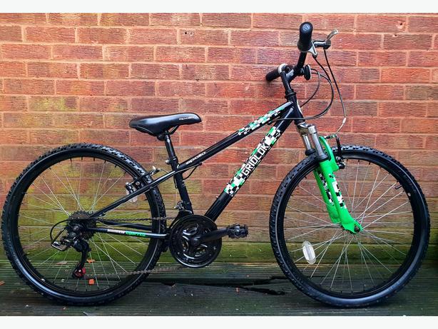 """Apollo Gridlock mountain bike,24""""wheels,18 speed"""