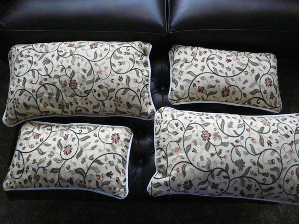 4 x TAPESTRY ENVELOPE STYLE CUSHIONS