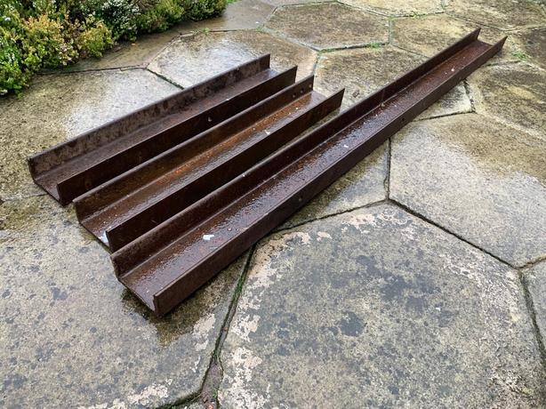 x3 Steel Beams for Sale - Only £60 for all