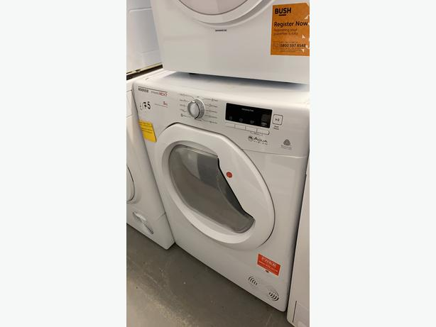 10KG LOAD HOOVER CONDENSER TUMBLE DRYER WITH GUARANTEE- NEW GRADED