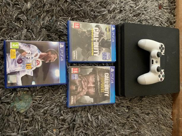 ps4 slim woth games