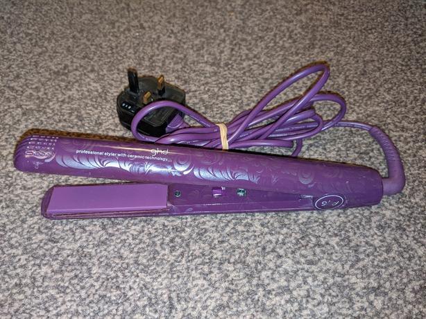 Ghd hair straightener Jemella limited 4.2B purple