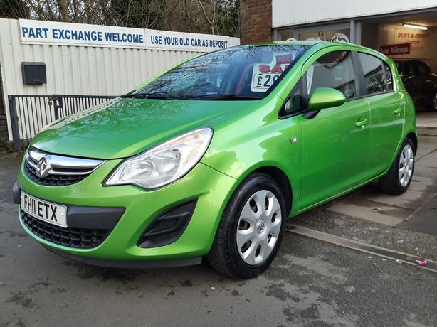 LOW MILEAGE CORSA 1.4 16V EXCLUSIVE DRIVES SUPERB & NEW MOT INCLUDED