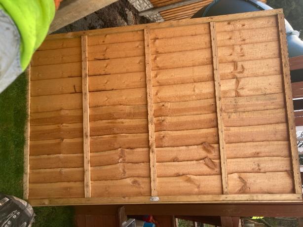 6x4 fence panels