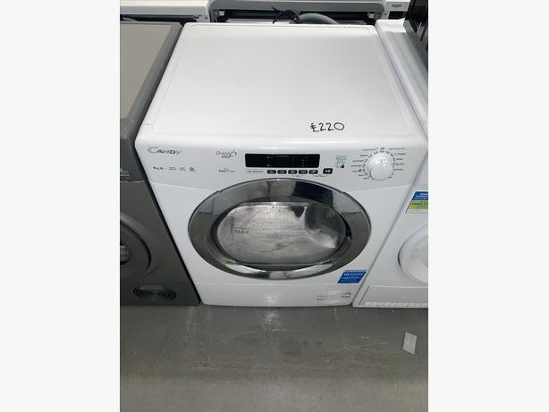 PLANET APPLIANCE - 9KG CAPACITY CANDY CONDENSER DRYER IN WHITE