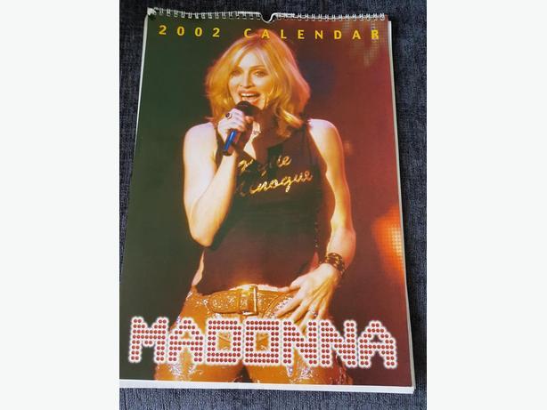 Madonna calendar - 2002