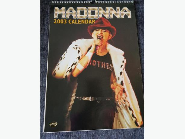 Madonna calendar - 2003