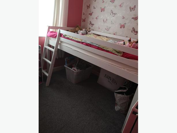 Mid sleeper single size bed