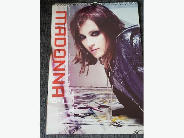 Madonna calendar - 2004