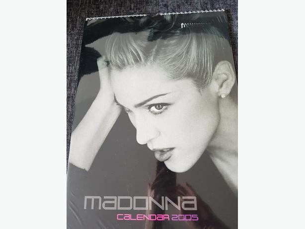 Madonna calendar - 2005 (unofficial)  - new and sealed