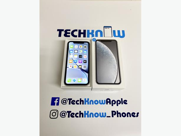 iPhone XR 64Gb unlocked to all networks (White) - £329.99