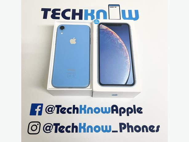 Iphone XR 64GB unlocked to all networks Blue Boxed - £329.99