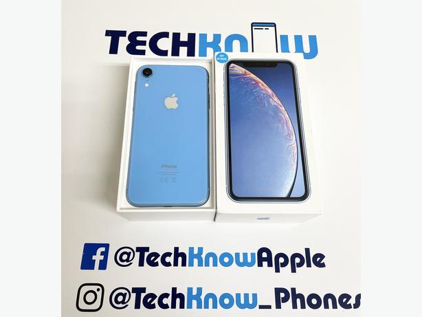 iPhone XR 64GB unlocked (Blue) - £329.99