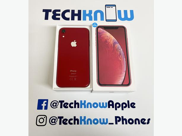 iPhone XR 128Gb unlocked to all networks (red) £349.99
