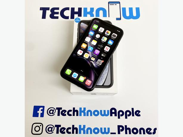 Iphone XR 64GB unlocked Black Boxed - £299.99