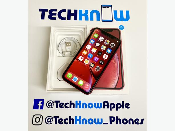 iPhone XR 64Gb unlocked to all networks Product Red - £329.99