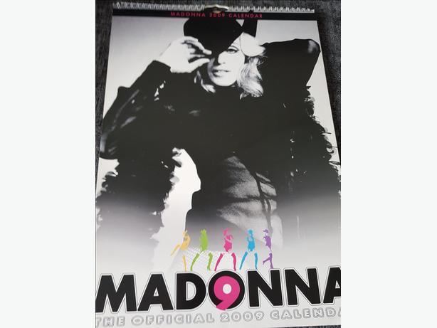 Madonna calendar - 2009