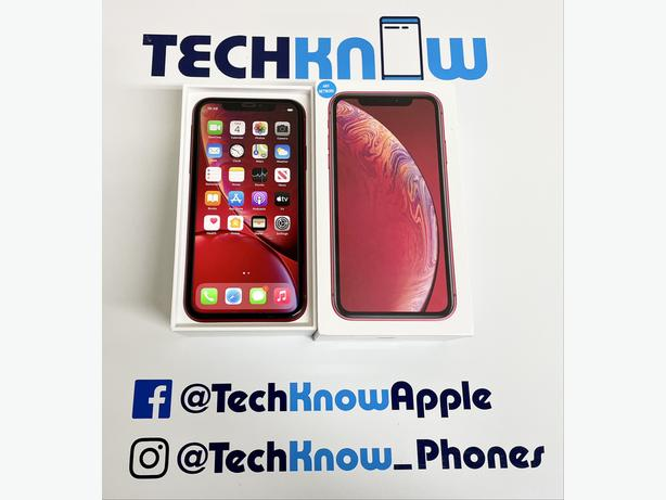 iPhone XR 64GB unlocked to all networks (Red) - £329.99