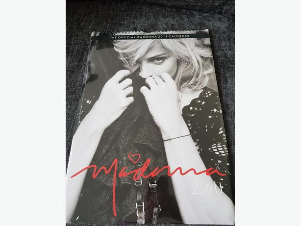 Madonna official calendar - 2011 (new and sealed)