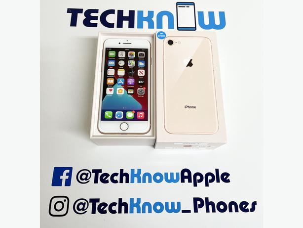 iPhone 8 64GB unlocked to all networks - £199.99