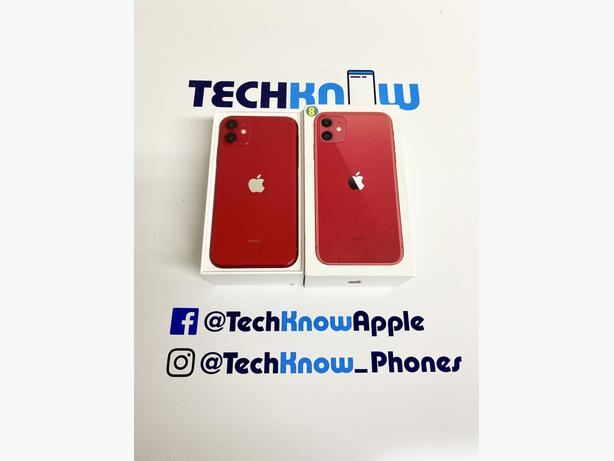 Iphone 11 64GB Locked to EE BT networks Product red + Apple warranty  - £449.99