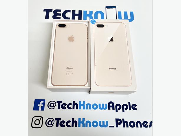 iPhone 8 Plus 64GB Unlocked to all networks (Gold)  £249.99 Fixed price