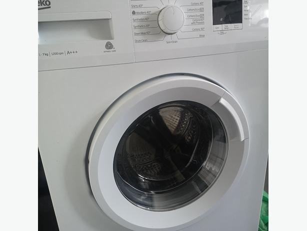 Beko washing machine 1200 spin. A+++
