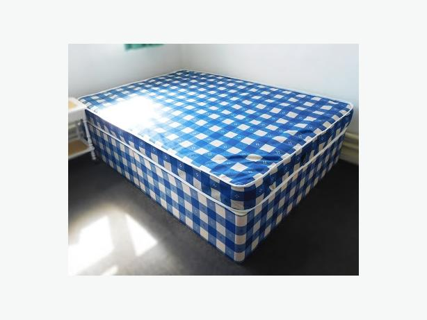Nice Double Divan Bed Base & Mattress Good Condition Can Deliver for £5